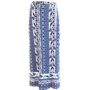 Monteau Los Angeles Skirt Maxi Front Leg Slit M